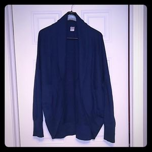 Old Navy Active Blue Cocoon Cardigan Large